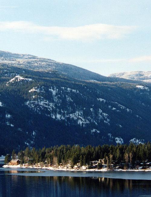 Winter Christina lake